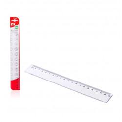 Regla Transparente 20cms Plástico. Regla para el cole
