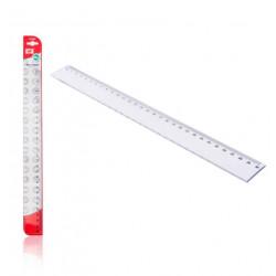 Regla Transparente 30cms Plástico. Reglas para el cole