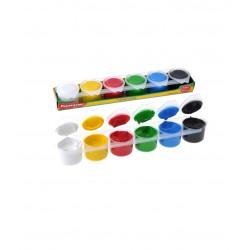 Set Tempera Básicos, 6 Colores
