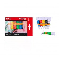 Set Tempera, 6 Colores