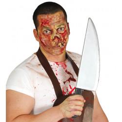 Cuchillo de carnicero para disfraz