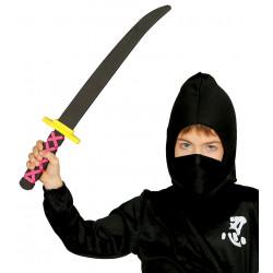 Espada samurai infantil de goma eva, 50 cm