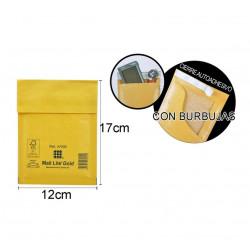 Sobre Burbuja 110x160mm. Embalaje para envíos