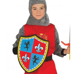 Escudo medieval infantil de goma eva