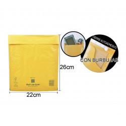 Sobre Burbuja 220x260mm. Embalaje para envíos