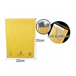 Sobre Burbuja 220x330mm. Embalaje para envíos