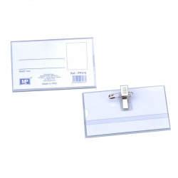 Tarjeta Identificación con Pinza, 90 x 57 Mm