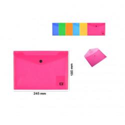 Sobre Plástico A5, Varios Colores