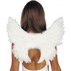 Alas plumas blancas 40X45CMS