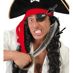Set de espada pirata y parche