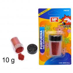 Purpurina Roja para Manualidades, 10 gramos