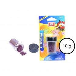 Purpurina Morada para Manualidades, 10 gramos