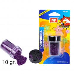 Purpurina para Manualidades Morado Oscuro, 10 gramos