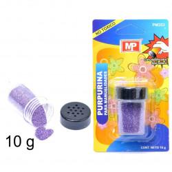 Purpurina Lila para manualidades, 10 gramos