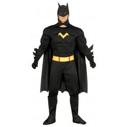 Disfraz de black hero adulto. Disfraz de Batman para adulto