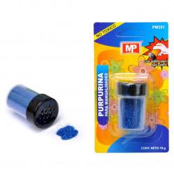 Purpurina Azul Marino para Manualidades, 10 grs