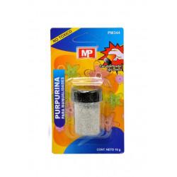 Purpurina para manualidades gris medio, 10 gramos