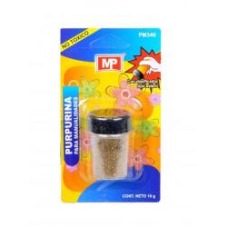 Purpurina para manualidades color cobre, 10 gramos