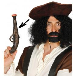 Pistola pirata PVC, 28 cm