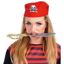 Daga pirata de plástico