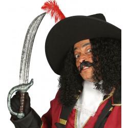 Espada pirata de los siete mares, 52 cm