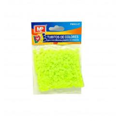 Hama Beads Verde Fluorescente, MIDI 31 gr. Tubitos de artesanía