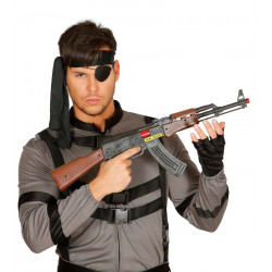 Fusil AK-47 PVC, 62 cms de largo