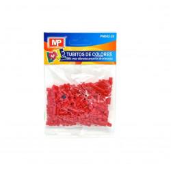Hama Beads Rojo Oscuro MIDI 31gr. Tubitos de artesanía
