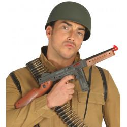 Metralleta para soldado, 58 cm. Complemento para disfraz