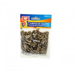 Hama Beads Color Bronce, MIDI 31gr. Tubitos de artesanía