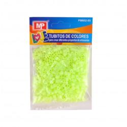 Hama Beads MIDI Verde Fluorescente Transparente 31 gr