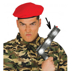 Pistola militar para disfraz