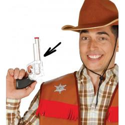Revólver cowboy 23 cms PVC