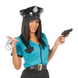 Set de pistola y esposas de policía