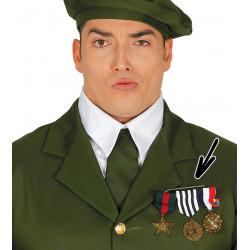 Pasador con 3 medallas militares