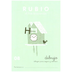 RUBIO, Dibujos No. 08