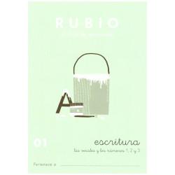 RUBIO, Escritura No.01