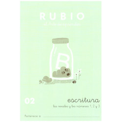 RUBIO, Escritura No.02