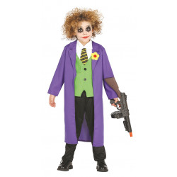 Disfraz de Bufón Infantil - Disfraz de Joker para Niño