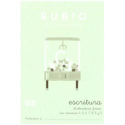 RUBIO, Escritura No.03