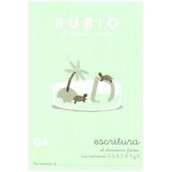 RUBIO, Escritura No.04