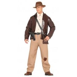 Disfraz de aventurero adulto. Disfraz de Indiana Jones para hombre