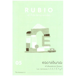 RUBIO, Escritura No.05