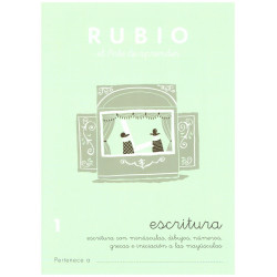 RUBIO, Escritura No.1