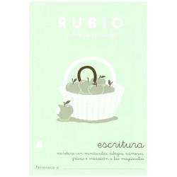 RUBIO, Escritura No.4