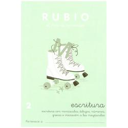 RUBIO, Escritura No.2