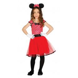 Disfraz de Ratoncita Infantil - Disfraz de Minnie Mouse para Niña