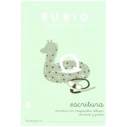 RUBIO, Escritura No.6