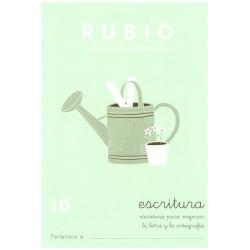 RUBIO, Escritura No.10