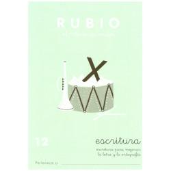 RUBIO, Escritura No.12
